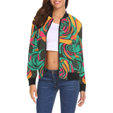Dope Calypso Rose Bomber - ladies