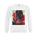 Step Up Unisex Sweatshirt - r/w/b