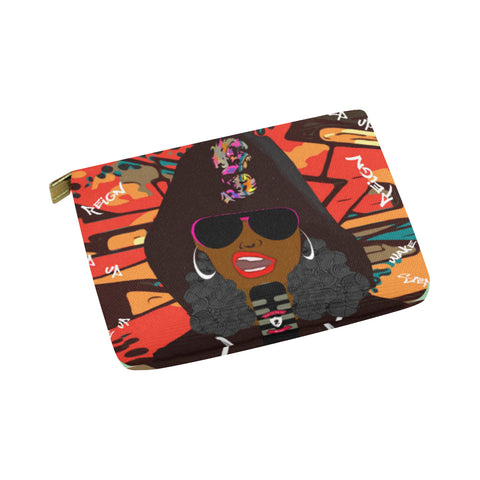 Rap Battle Essentials Pouch 8''x 6'' (Fiya)
