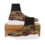 Mocha MixTape Mock Sock shoes - Mens