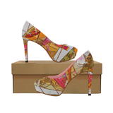 Signature Orange Burst High Heels