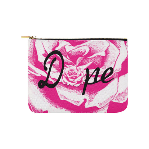 "Dope Rose Essentials Pouch ""8x6"""