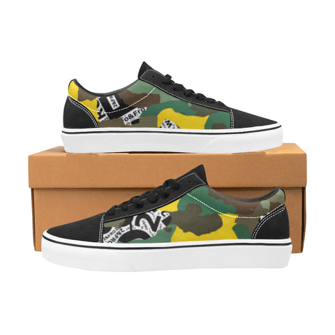 Camo Low Tops - Men's