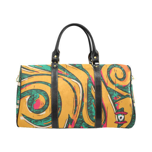 Retro Remix travel bag - oceanic