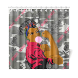 "Resist Shower Curtain 72""x72"""