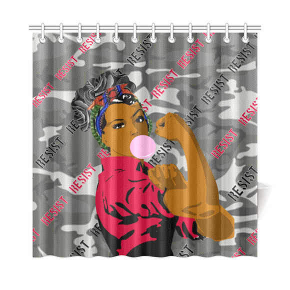 Resist Shower Curtain 72