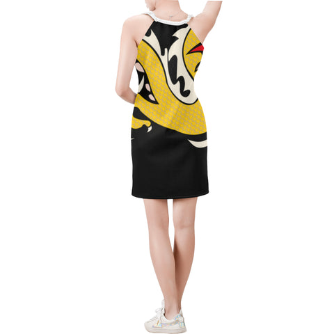 The Original Golden Dragon Sleeveless Dress