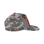 Red Resistance Army Snapback Hat