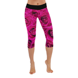 RoseRed Low Rise Capri Leggings