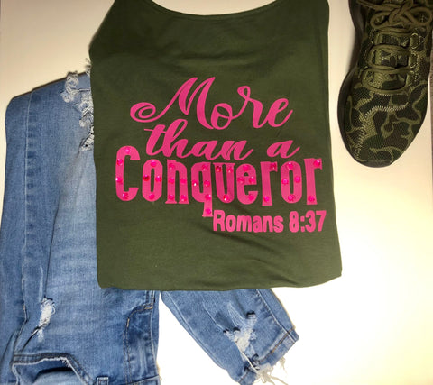 More Than a Conqueror Cami