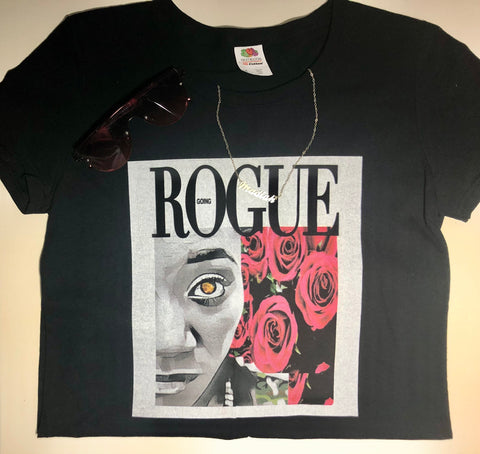 Women's Camo Rose Going Rogue Tee