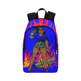 Black Girl Litness Backpack