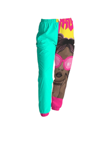 Black Girl Magic Collection: Women's Track Pants/ Joggers (Face)