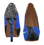 Too Blue Dragon Heels - 6 Colors
