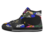 Fly Girl Camo  - hightop sneakers / 6 colors