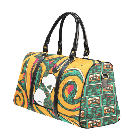Panda Royalty (Teal / Gold) Waterproof Travel Bags (Large) : 2 options