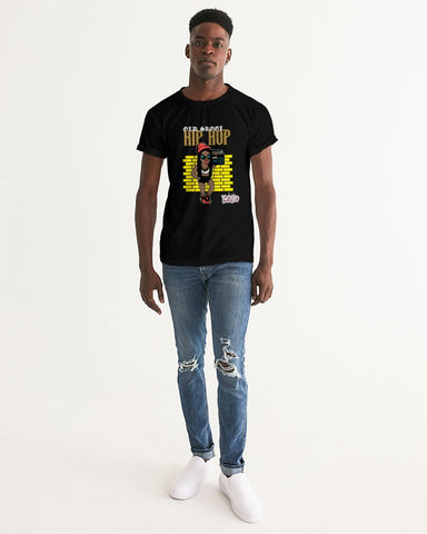 Old Skool Hip Hop Collection Men's Graphic Tee (Braids)