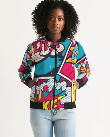 Woke Comic Women's Bomber Jacket