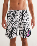 Numbers Men's Swim Trunk
