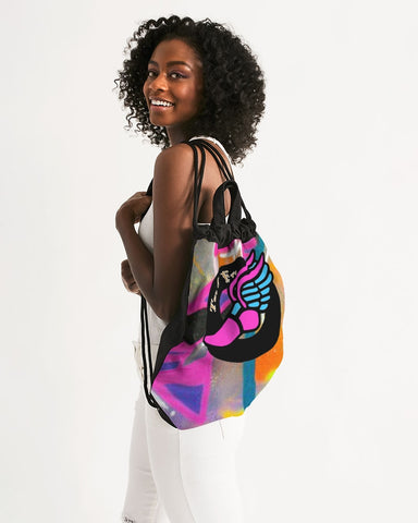 2 Fly Graffiti Drawstring Bag