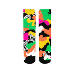 ™️ Neon 2&Fro Camo Women's Socks