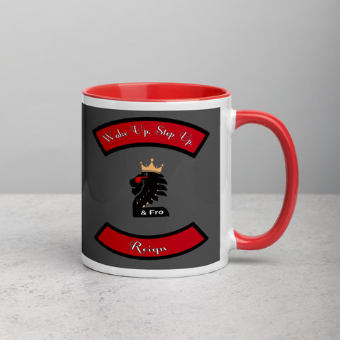 2&Fro Biker Style Mug with Color Inside