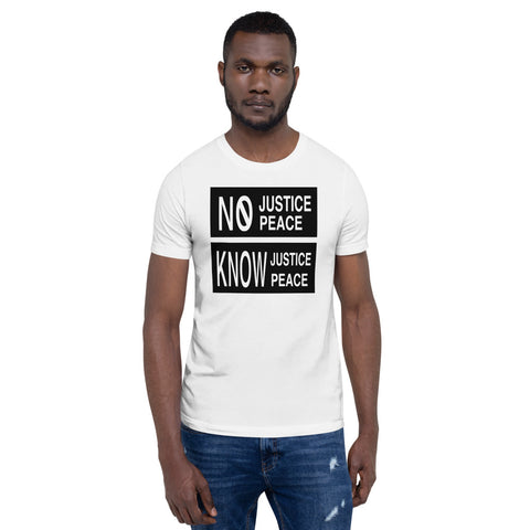 No Justice No Peace Short-Sleeve Unisex T-Shirts