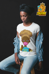 Stop Killing Us Women's Tee (blond hair)