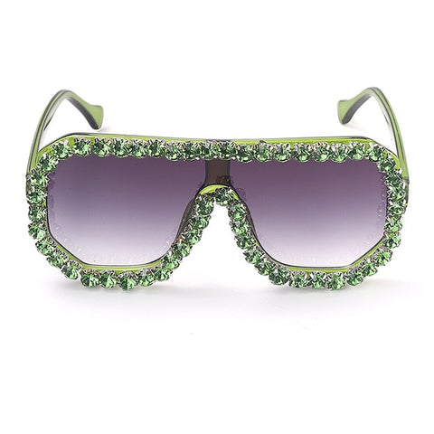 Faux Diamond Life Sunglasses