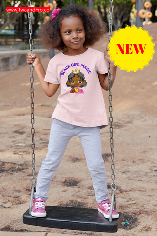Black Girl Magic Youth Short Sleeve T-Shirt