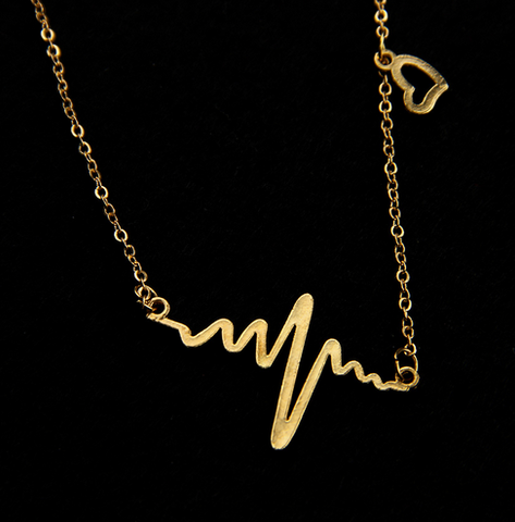 Heartbeat Pendant Necklace, FREE + Shipping