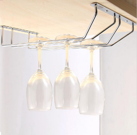 Wine Glass Rack Hanger, S/S.