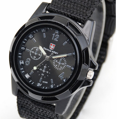 Quartz Tactical Army Watch