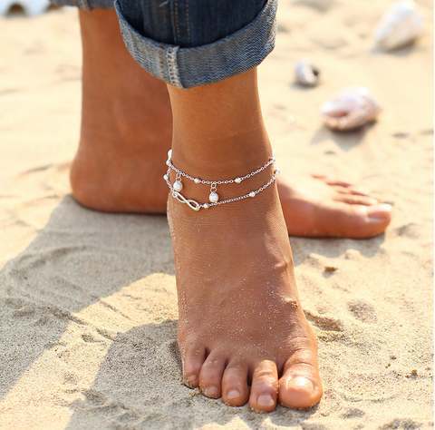 Anklet 2017 Tomtosh Hot Ankle Bracelet Jewelry