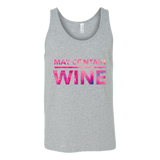 Fun Canvas Unisex Tank Rounded collar/modern fit