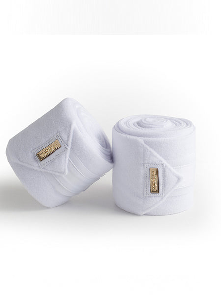 Equestrian Stockholm White Gold Fleece Bandages Canada