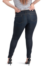 Dakota High Rise Skinny | Dark Rinse
