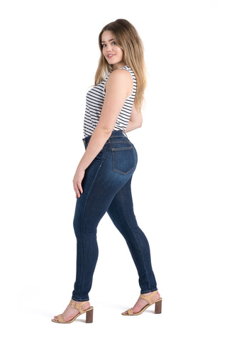 Dakota High Rise Skinny | Mid Wash