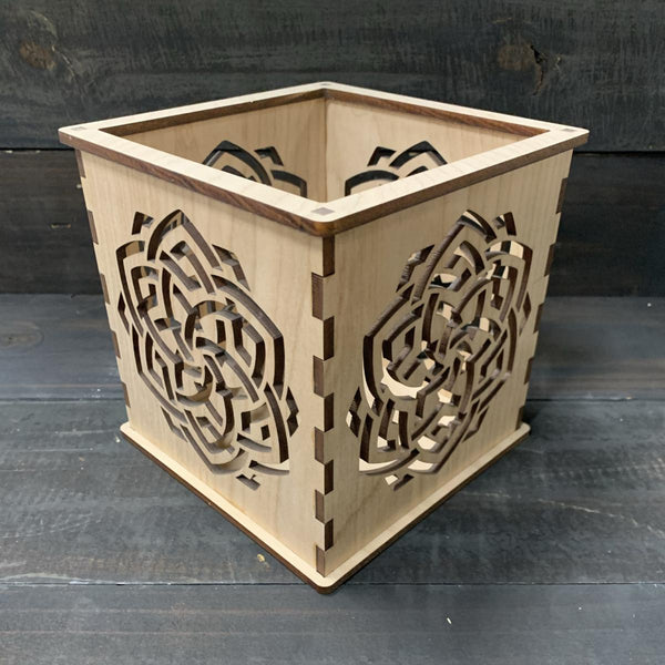 Celtic Knot - Pillar Candle Holder
