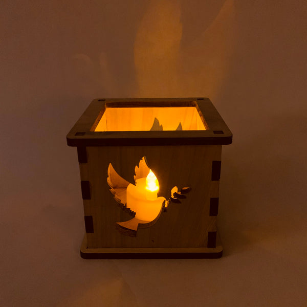 Peace Dove - Tea Light Holder