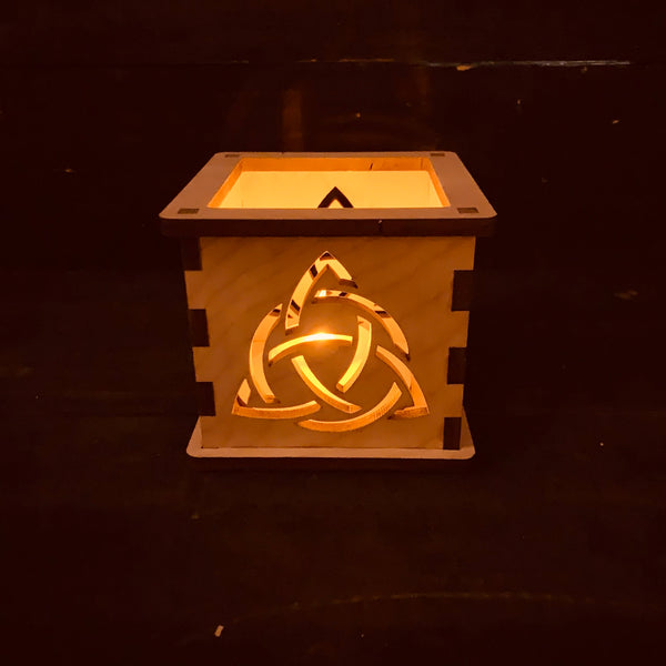 Celtic Knot - Tea Light Holder