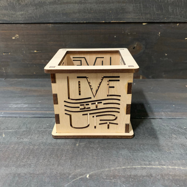 Live It Up - Tea Light Holder