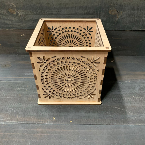 G.O.T. Mandala - Pillar Candle Holder