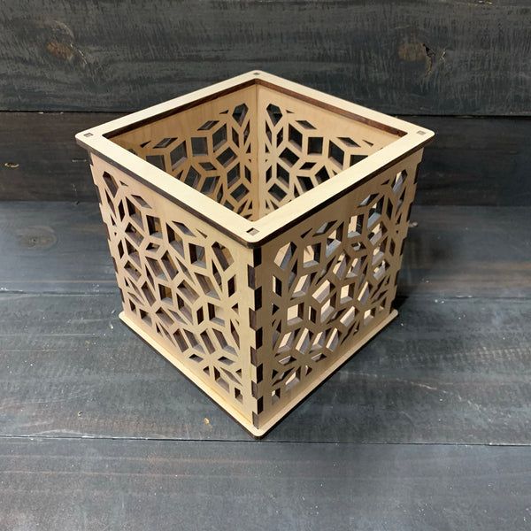 Penrose - Pillar Candle Holder