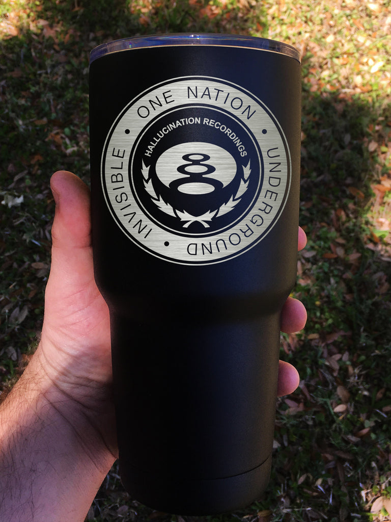 """Hallucination Seal"" Tumbler - Etch Pros.. Laser Craft Studios"