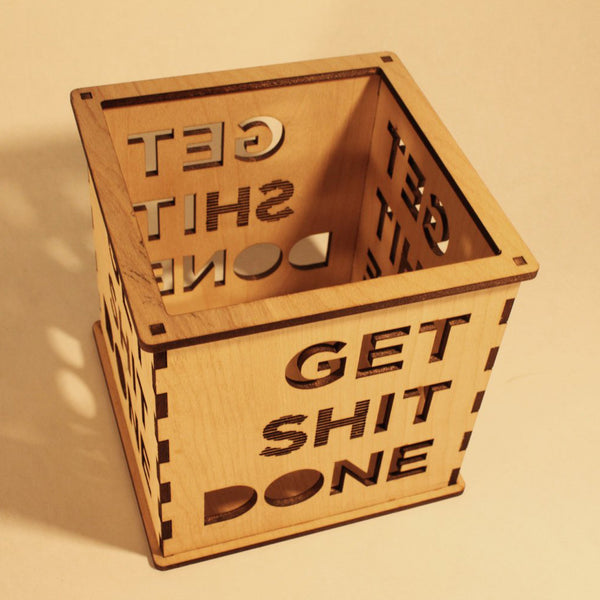 Get (sh)it Done - Candle Holder