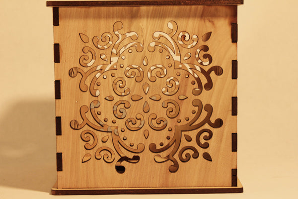 Filigree - Candle Holder - Etch Pros.. Laser Craft Studios
