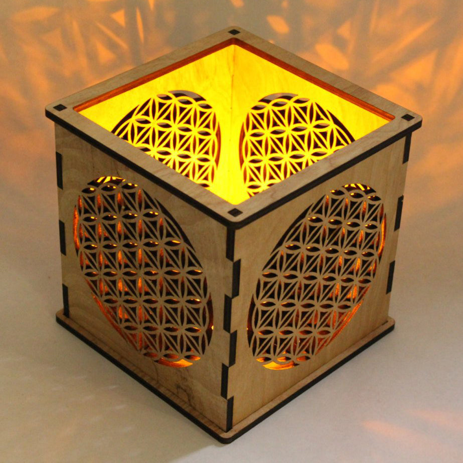 Flower of Life - Candle Holder