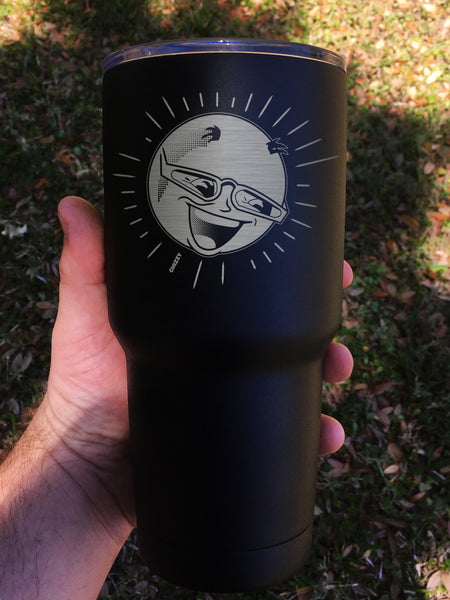 """Mr. Sun"" Tumbler - Etch Pros.. Laser Craft Studios"