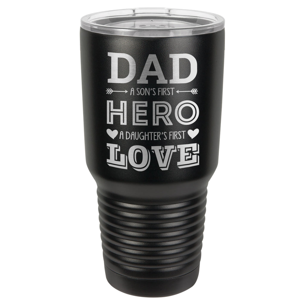 """Dad - Son & Daughter"" Tumbler"